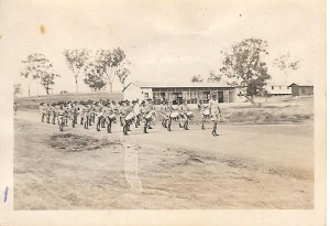 Battalion band in Cowra