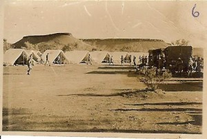 Camp at Alice Springs 1