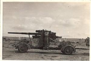 Captured German gun 1
