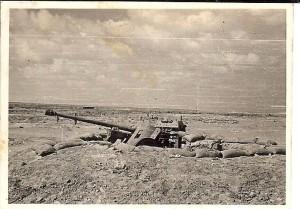Captured German gun 3