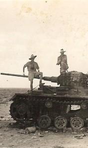 Captured German Tank