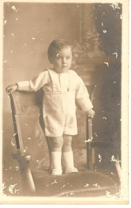 Earl aged 1 or 2