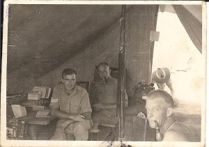 Earl,Capt Robertson,Guy Stephens after Alamein