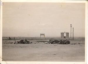 El Alamein Railway siding bombed by Germans