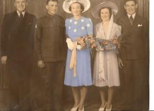 Ted, Earl, Enid,  Dot and Noel.