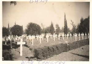 Gaza War Cemetry