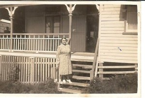 Grandma Ruby Myrtle at Peter St.